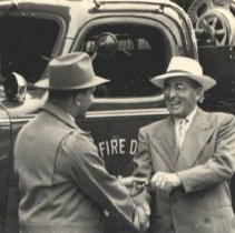 Image of Fire Dept. Chief Floyd Maricle