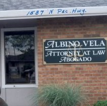 Image of Vela, Albino, Attorney at Law 1537 N Pacific Highway in 2008  - 2016FIC4275