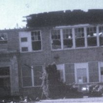 Image of Washington School Fire 1934 and gym fire later - 2016FIC4335