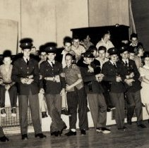 Image of ROTC Dance at St. Luke's in 1940s - 2016FIC4547