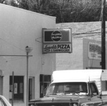 Image of Leopold's Pizza 293 Front Street with opening on Garfield 1979 - 2016FIC4614