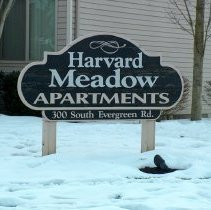 Image of Harvard Meadow Apartments 300 S Evergreen Road  - 2016FIC4615