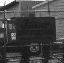 Image of Barrett Mobile Home Transport 1360 Industrial Ave. in 1979 - 2016FIC4795