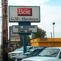 Image of GW Hardware 1525 N Pacific Highway  - 2016FIC4819