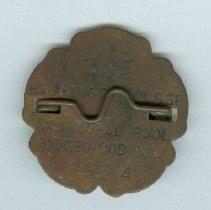 Image of 2014.002.008 - Badge