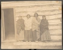 Image of Sitting Bull's Two Wives and Daughters