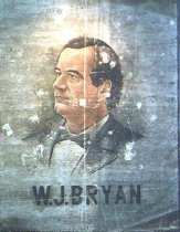 Image of 10254-1 - Poster, Political; William J. Bryan; Portrait on Canvas