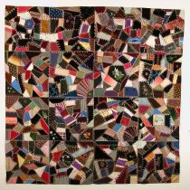 Image of 10427-1 - Quilt; Crazy