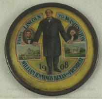 Image of 10506-91 - Button, Political; William Jennings Bryan