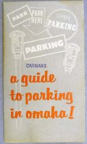 Image of 10586-48 - Brochure, A Guide to Parking in Omaha