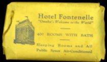 Image of 10586-77 - Soap with Paper Wrapping from the Hotel Fontenelle