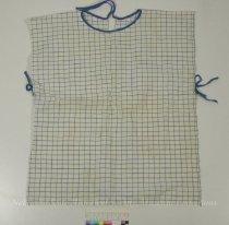 Image of 10586-59 - Blue & White Plaid Bib