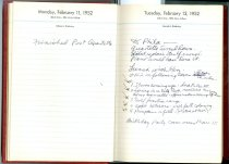 Image of RG4121.AM.S2.F5 Daily Reminder 1952 Feb 12