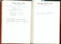 Image of RG4121.AM.S2.F5 Daily Reminder 1952 Mar 5