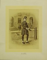 Image of 10645-1229 - Print; F. Barnard; Offset Lithograph; Mr. Micawber
