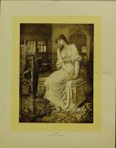 Image of 10645-1233 - Print; J. M. Strudwick; Offset Lithograph; Elaine