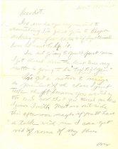 Image of 10645-1479 - Letter; John Falter; Graphite