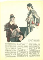 Image of 10645-205-(C) - Clipping, Magazine; Article; John Falter; Offset Lithograph; Liberty