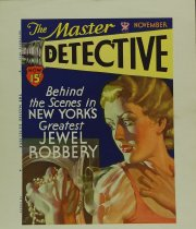 Image of 10645-2093 - Proof, Printing; Cover; John Falter; Offset Lithograph; The Master Detective; November 1933