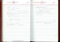 Image of RG4121.AM.S2.F18 Diary 1962 Apr 11, NSHS Archives