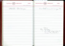 Image of RG4121.AM.S2.F18 Diary 1962 Feb 28, NSHS Archives