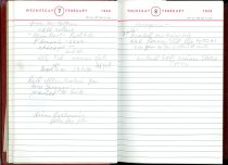 Image of RG4121.AM.S2.F18 Diary 1962 Feb 8, NSHS Archives