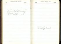 Image of RG4121.AM.S2.F10 Diary 1955 Apr 17