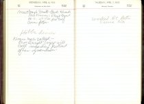 Image of RG4121.AM.S2.F10 Diary 1955 Apr 7