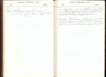 Image of RG4121.AM.S2.F10 Diary 1955 Feb 8