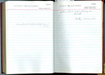 Image of RG4121.AM.S2.F16 Diary 1960 Nov 20, NSHS Archives