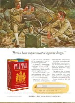 Image of 10645-2244 - Proof, Printing; John Falter; Offset Lithograph; Pall Mall Cigarettes