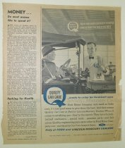 Image of 10645-2352 - Clipping, Magazine; John Falter; Offset Lithograph; Ford
