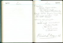 Image of RG4121.AM.S2.F13 Diary 1957 Apr 22, NSHS Archives