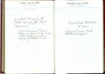 Image of RG4121.AM.S2.F11 Diary 1956 Jun 9, NSHS Archives