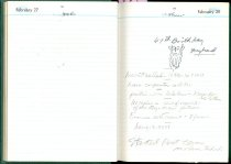 Image of RG4121.AM.S2.F13 Diary 1957 Feb 28, NSHS Archives