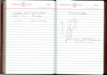Image of RG4121.AM.S2.F18 Diary 1962 Jun 6, NSHS archives