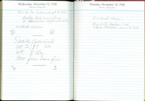 Image of RG4121.AM.S2.F14 Diary 1958 Nov 13, NSHS Archives
