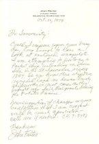 Image of RG4121.AM.S5.F107 The Famished ship design letter, NSHS archives