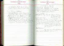 Image of RG4121.AM.S2.F23 Diary 1966 Oct 6, NSHS archives