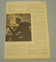 Image of 10645-2619 - Clipping, Magazine; Article; John Falter; Offset Lithograph; Redbook
