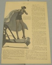 Image of 10645-2639 - Clipping, Magazine; Article; John Falter; Offset Lithograph; Redbook