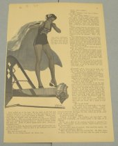 Image of 10645-2643 - Clipping, Magazine; Article; John Falter; Offset Lithograph; Redbook
