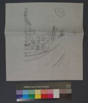 Image of 10645-2987 - Drawing; John Falter; Graphite