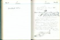 Image of RG4121.AM.S2.F13 Diary 1957 May 22, NSHS Archives