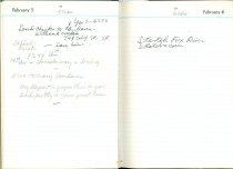 Image of RG4121.AM.S2.F13 Diary 1957 Feb 6, NSHS Archives