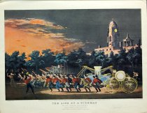 Image of 10645-3674 - Print; L.Maurer, Nathaniel Currier; Color Gravure; The Life of a Fireman