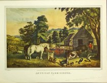 Image of 10645-3710 - Print; Frances Palmer, Nathaniel Currier; Offset Lithograph; American Farm Scenes