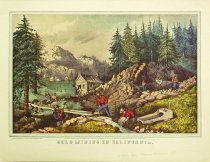Image of 10645-3719 - Print; Nathaniel Currier, James M. Ives; Offset Lithograph; Gold Mining in California