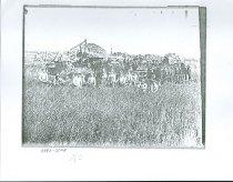 Image of RG4121.AM.S5.F142.Thrashing.Stats.Kansas.State.H.S.CopiedPhotographB.B983-,