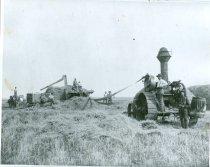 Image of RG4121.AM.S5.F142.Thrashing.Stats.S.Dakota.State.H.S.Threshing.Ole.Instad.F